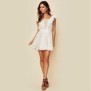 "For Love and Lemons ""Stardust"" Lace Mini Dress M19"